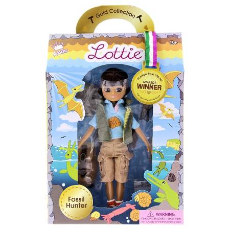 A #RealFossilHunter, Lottie will be appearing in the Museum online shop very soon