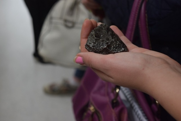 An actual meterorite, and not a