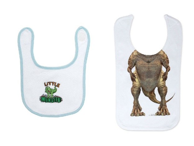 Bibs to label or dress up your 'little monster'.