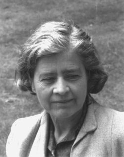 Black and white photograph of Theresa Clay from http://phthiraptera.info