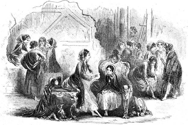 Illustration from Dickens's Little Dorrit