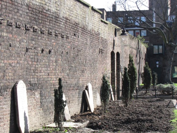 Marshalsea prison wall