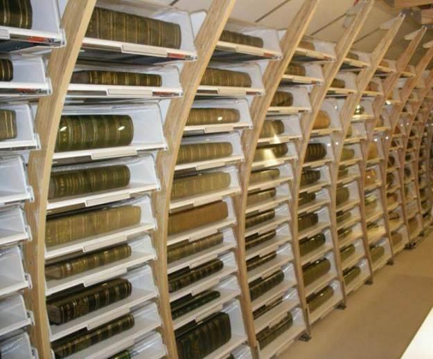 The Sloane Herbarium at the Natural History Museum, London