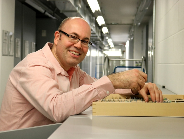 Photography of Vince Smith, Head of Diversity & Informatics in the Museum collection