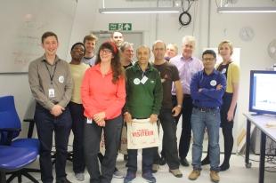 Our 2016 WeDigBio Visiteering team